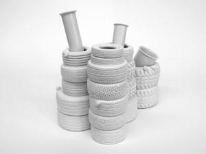 vase 09: H 23 cm x L 35,5 cm
